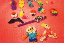 Rainbow loom / Cool designs on rainbow loom