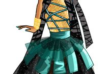 Monster High/ Ever After High Fashion Style / by Stelloudraw Estelle