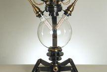 Steampunk lighting ideas