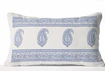 Decorative print pillow