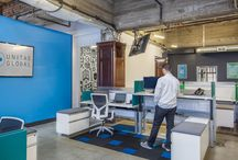 Creative Office Space / Commercial office ideas for the next generation of leaders in every industry. Break your stereotypes, embrace a culture of smart design. #cubiclefreedom