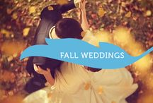 Fall Weddings / Spectacular weddings that happened in the beautiful fall.