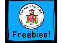 Teacher's Big Helper Freebies!