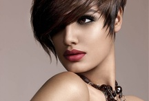 short hairstyles / by Margee Halligan