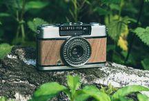 Wooden Camera art / Refurbished Cameras