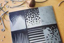 lino/ stamp / stencil