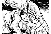 INKTOBER / Illustrations black/white
