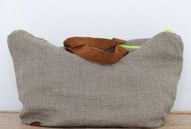 """Bolsos para viajar / Handmade bags from Spain worn by Elle Macpherson and Naomi Campbell. Get yours now at  www.allwelove.es   Bolsos hechos a mano, """"made in Spain"""" con tejidos de altísima calidad. Consigue el tuyo en www.allwelove.es"""