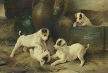 Pets in Art / In honor of National Pet day on April 11 and The 2016 San Francisco Fall Antiques Show theme Animalia: Animal Imagery in Art and Antiques