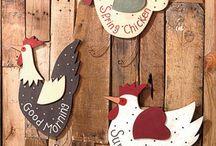 Chantournage / Poules
