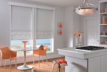 Roller Shades / Roller shades: Possibly the largest fabric selection available for any window coverings. From sheer to light filtering privacy to room darkening, you can get roller shades for every window in your home. http://www.windowinspirations.ca/