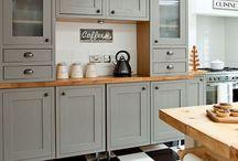 Neue Küchenschränke nach Omas Vorbild