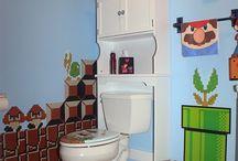 Nintendo Bathroom / www.nerdilandia.com