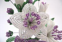 květy z koralku