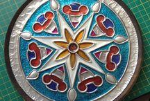 Mandala aluminio