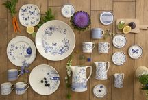 'What Kate Loves' - Designers@Royal Stafford / The Designers@Royal Stafford collective have welcomed Kate Thorburn to the team! Her blue and white collection is inspired by nature and long woodland walks.