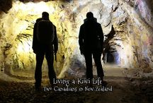 Living a Kiwi Life Webseries / A webseries about a Canadian Couple's journey exploring the beauty and adventure activities New Zealand has to offer