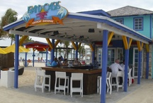 Island Oasis at Coco Cay  / The Island Oasis Bar on Royal Caribbean Cruise's private island, Coco Cay.