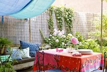 Outdoor Living Spaces / by Gina Grundy