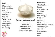 Coconut Oil / by Abigail Fellman