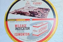advertising Edmonton export ginger ale 1960s