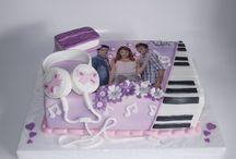Violetta cakes / Nathalie 7 jaar