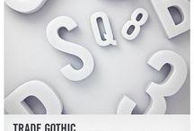 trade gothic | typeface