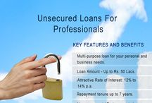 Unsecured loans for professionals
