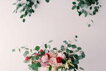Eucalyptus wedding / Eucalyptus bridal inspirations