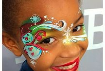 Face Painting Christmas designs ❄️