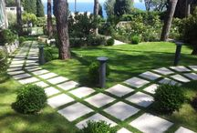 płtyki betonowe ogród