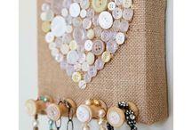 decoração de botões
