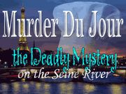 Murder Du Jour...the Deadly Mystery on the Seine River - Murder Mystery Party / This is an entertaining French-themed Murder Mystery Party for 8-11 guests! Are you feeling French enough to host the ultimate French Murder Mystery Party on the Seine River in Paris France? Throw on your best Frenchabuluous party wear and invite over your closest friends and have a fun French murder mystery party that your friends will remember for a lifetime! Hun hun hunnnh! Get ready for some Frenchtastic fun!