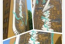 NEW GRAFFITI A BOLOGNA / M-CITY  – via scipione dal ferro 21  DOES –  via michele colonna /angolo via pellegrino tibaldi   HONET –  via del lavoro 18 HITNES –  via pier de' crescenzi 26   ETNIK –  via del lavoro 3  ERON –  via michele colonna /angolo via franco bolognese  JOYS – via marco polo 21 DADO – via san donato 52  CUOGHI CORSELLO –  via pier de' crescenzi 30  RUSTY  via marco polo 21  DAIM –  via aristotile fioravanti 10  ANDRECO– via dello scalo 32  PHASE II