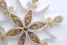 quilling - vianoce