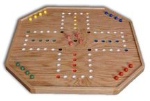 wooden games table