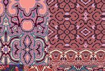 Textile art / Pretty little patterns that make you look twice