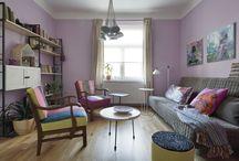 nábytek po rodičích / eklektický styl