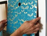DIY | Bookshelf backing