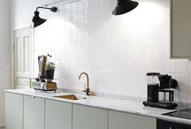 Scandinavian vintage kitchen