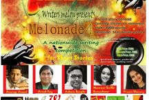 Melonade'4 / Melonade is our annual writing competition that touched 4 this year. Excerpts from our top 15 selections and more on this board.