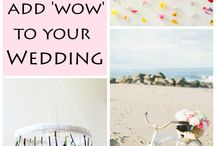 "12 DIY Ways to Add 'Wow"" to Your Wedding"