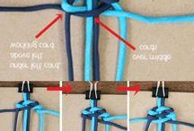 Provázky pletené