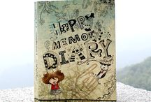 Diary and Diary Decoration  / Diary Decoration ... Diary Sticker :-)