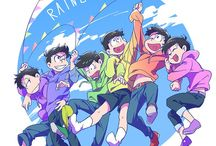 。o♡ Osomatsu-San ♡o  。 / LOVE THESE BROTHERS!