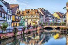 Isso é um sonho / It´s one dream / Cidades com edificações diferenciadas ou lugares bucólicos.