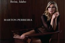 Barton Perreira / Beautiful handcrafted frame line designed by renowned designer, Patty Perreira.  Find Barton Perreira at Artisan Optics in Boise Idaho