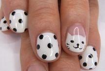 Nailing art - peinture ongles / Motifs , exemples et techniques de décoration des ongles et mains à l'aide de peinture acrylique ou vernis