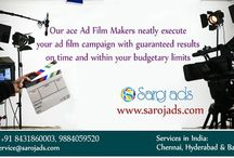 Creative Ad Agency in Bangalore / Our ace AD film makers neatly execute your ad film campaign with guaranteed results.
