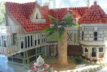 Ginger bread houses